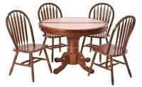 Обеденный стол и стулья Маура