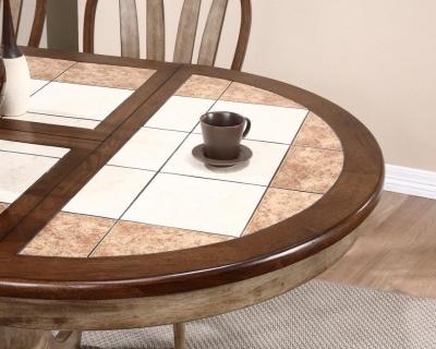 кухонный стул с плиткой