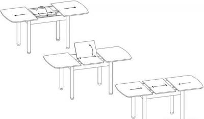 обеденные столы в каьалоге