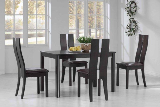 Кухонные стол и стулья Ева