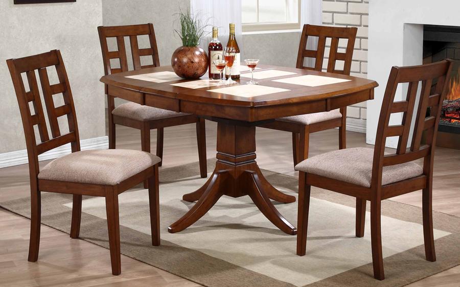 Квадратный кухонный стол с плиткой Spazio