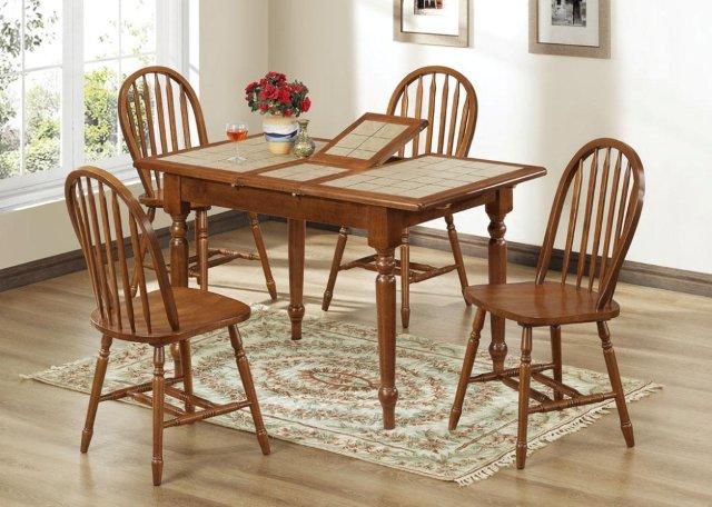 Кухонные стол и стулья Фиделия