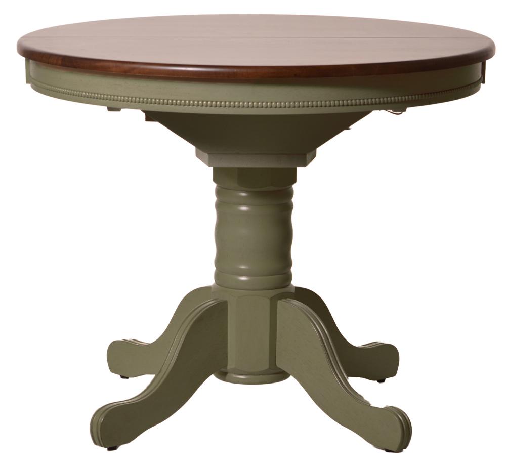 Круглый раскладной стол для кухни Easy