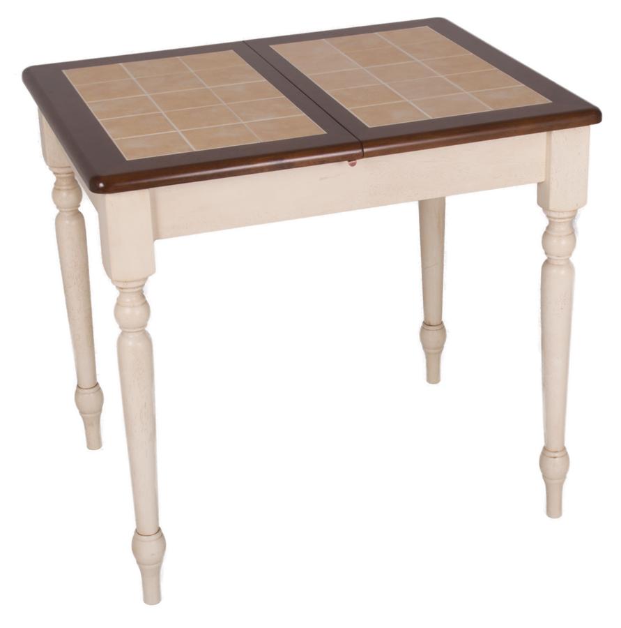Раздвижной кухонный стол с плиткой Nevada