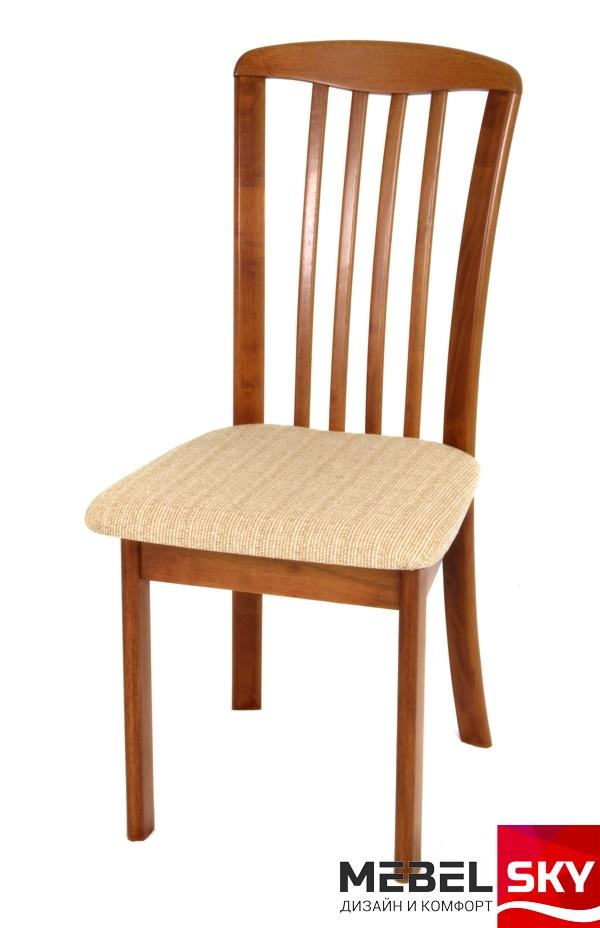 Недорогой светлый обеденный стул REIM