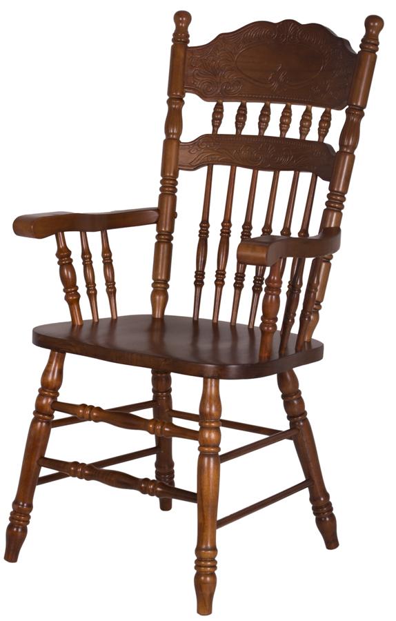Деревянный обеденный стул-кресло HARMONY