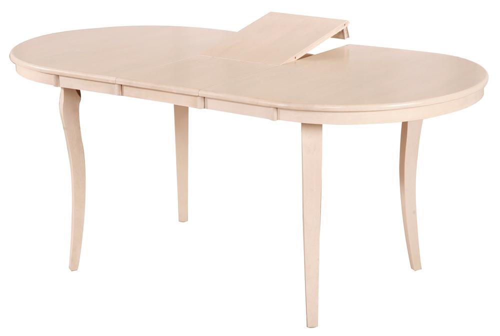 Овальный раскладной стол для кухни Gliss