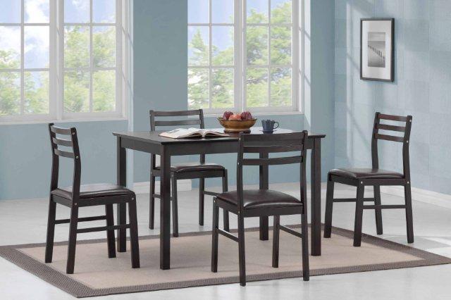 Стол обеденный и стулья Джустина