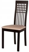 Темный кухонный стул VELVET