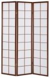 Аренда складной ширмы Манами (3 панели)
