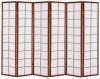 Ширма-перегородка в комнату Маеко (6 панелей)